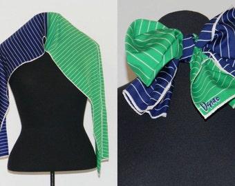 Vintage Striped Vera Scarf