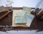 OOAK Miniature Letter set for Dollhouse 1/12 Scale