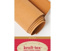 Kraft Tex Paper Fabric Material Natural Color by C&T Publishing HALF YARD (45 cm)