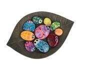 Hand Painted Rocks - A Bowl Full of Bug Rocks - Interactive Art Piece - Cute Lil' Buggers