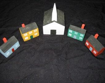 Miniature Village Set