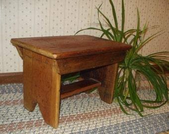 Reclaimed wood - Foot stool [TC114]