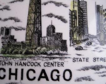Vintage CHICAGO Souvenir Plate