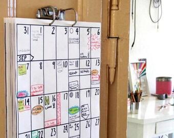 wall calendar 2018 (18 months)
