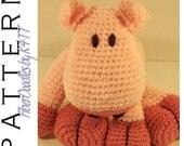 INSTANT DOWNLOAD : KISS Series - Pig Crochet Pattern
