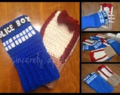 Crochet Dr. Who Gloves