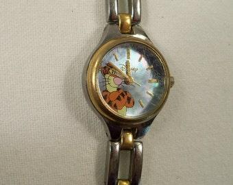 "Very Nice Vintage Signed Disney ""Tiger"" Watch"