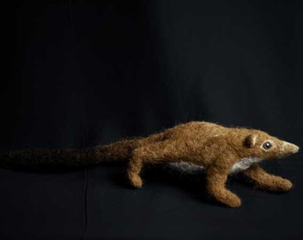 Common Ancestor of all Mammals - made from needle felted wool