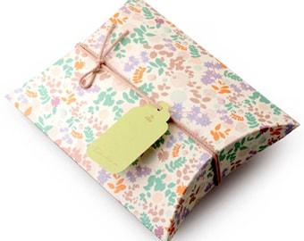 2 Secret Garden Gift Boxes - M size (5.4 x 7.3 x 1.6in)