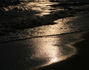 Cape Cod Beach, Craigville Beach, Beachscape, Massachusetts, New England, Black & White Photography, 8 x 10 Photograph, Cape Cod Photography