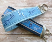 Ribbon Keychain Fob -- Kansas City Royals -- 5 dollar fob