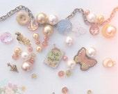Mrs. Darcy , woman's mjc button charm bracelet