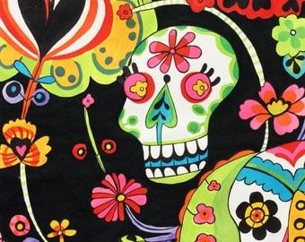 Folklorico Cabezas de Coyoacán Fabric 1 Yard Fabric