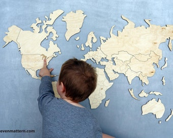 World Magnetic Map Puzzle - 15% OFF!