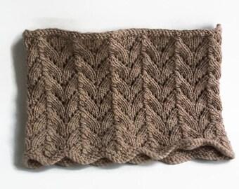 knitting pattern cowl