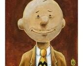 Charlie Brown Peanuts Gang  8x10 Print