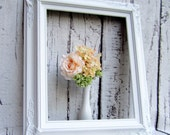 "BAROQUE PICTURE FRAMES For Sale Fits 20""x24"" Picture Frame White Wedding Picture Frame Fits 20""x 24"" Baroque Decorative Frame Shabby Chic"