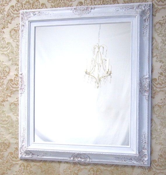 bathroom vanity mirrors for sale 31x27 white