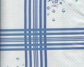 Oslo Blue Oilcloth, Yardage