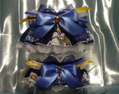 San Diego Chargers Wedding Garter Set