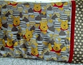 Winnie the Pooh Childrens or Travel  Pillow Case
