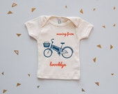 waving from brooklyn : organic baby top