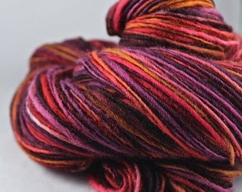 Handspun Yarn Gently Thick and Thin DK Single Falkland 'Lovesick'