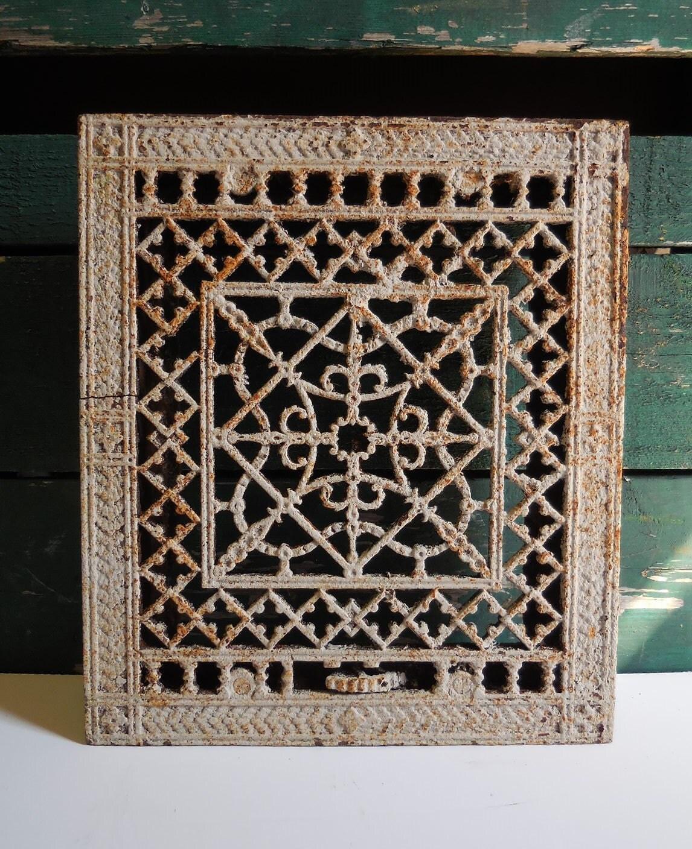 Decorative Metal Grates Antique Cast Iron Metal Grate Floor Wall Vent Architectural
