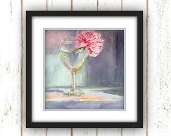 Drink Up My Peony - Art Print - Large Wall Art