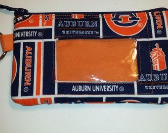 Auburn University Zip ID pouch