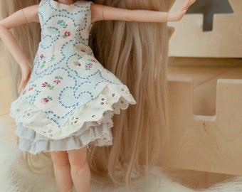 Blythe Dress :Blue Dress Set C