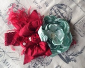 Merry & Mint Couture Flower Headband