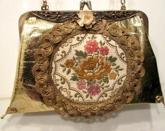 Vintage Victorian Styled Purse / Clutch / OOAK