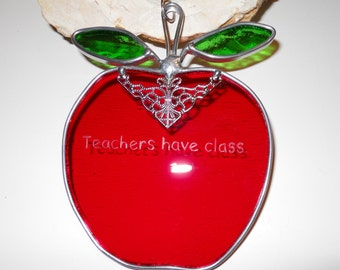 Teachers have Class Suncatcher