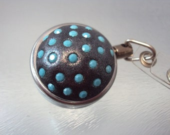 Swarovski Retractable Badge Holder