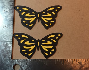 Two Butterfly Die Cuts - pick your color