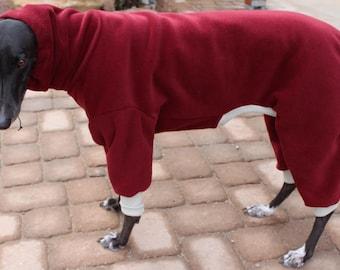 "Big Dog  Fleece Suit  for  Greyhounds, Rhodesian Ridgebacks and all dogs 25"" to 29"""