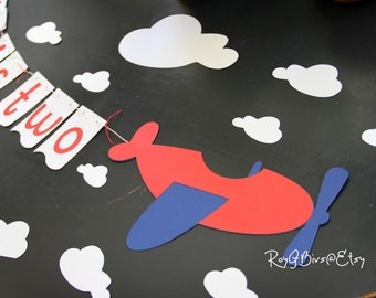 Flying Airplane Banner