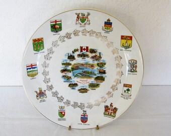 Expo 67 Montreal Canada Commemorative Plate