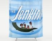 Jenkins - Shower Curtain