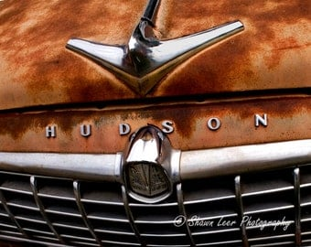 American Classic Hudson Automobile Hood and Grille