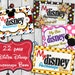 Disney Autograph Book Digital Pages - 22 Character Pages - Walt Disney World Disneyland WDW Instant Download