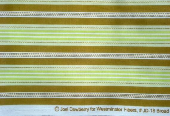 Aviary Joel Dewberry Broad Stripe green FQ or more