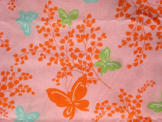 SALE : Urban Chiks Dream On butterflies pink moda fabric FQ or more