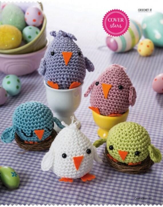 Amigurumi Hatching Easter Chicks : Easter chicks by Liz Ward amigurumi crochet pattern