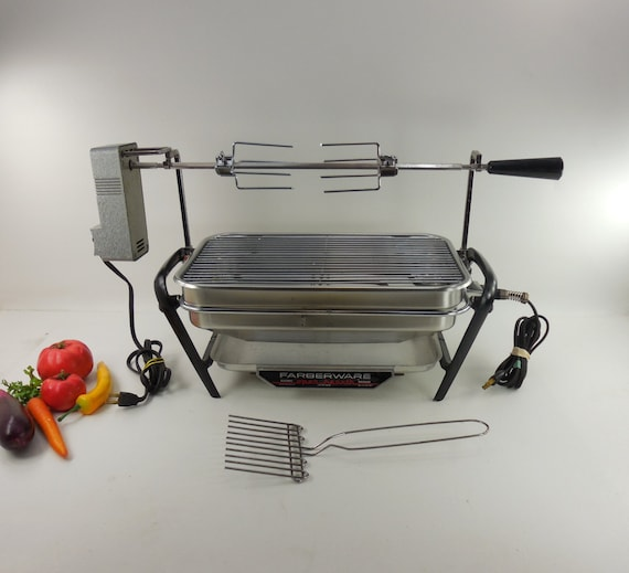 Farberware Open Hearth Electric Broiler By Oldetymestore