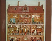 A History of Dolls' Houses by Flora Gill Jacobs, Vintage Reference Book 1965 Edition