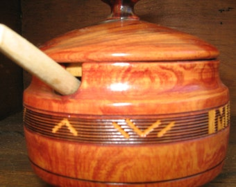 Vintage Wood Hand Carved Bowl from México