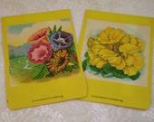 Morning Glory & Nasturtium, Burt's? Seed Company, pair of flower seed packets, circa 1910