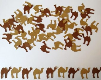 Hump Day or Camel Die Cut Confetti-Set of 200